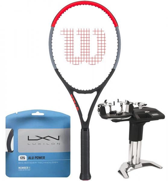 Rakieta tenisowa Wilson Clash 100 Tour + naciąg + usługa serwisowa