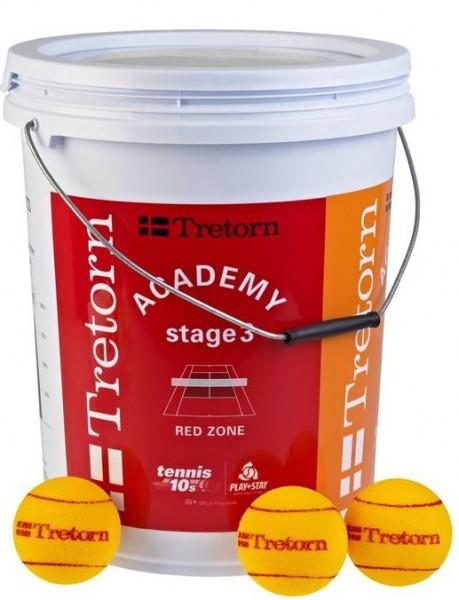 Juunioride tennisepallid Tretorn Red Foam Playball Bucket 36B