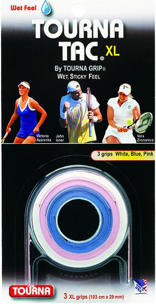 Owijki tenisowe Tourna Tac XL (3 szt.) - multicolor