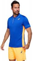 Polo marškinėliai vyrams Asics Padel M Polo Shirt - monaco blue/orange pop