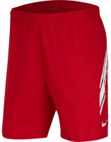 Nike Court Dry 9in Short - gym red/white/gym red/white