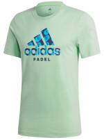 Teniso marškinėliai vyrams Adidas Padel Logo Tee - glory mint
