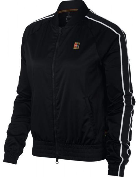 Damska bluza tenisowa Nike Court Stadium Jacket W - black/black/white