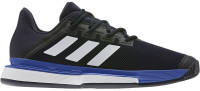 Męskie buty tenisowe Adidas SoleMatch Bounce M Clay - legend ink/white/royal blue