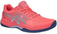 Damskie buty tenisowe Asics Gel-Game 7 Clay/OC - papaya/silver