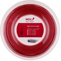 Naciąg tenisowy MSV Focus Hex (200 m) - red