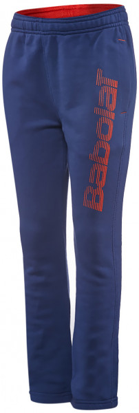 Babolat Core Sweat Pant Big Logo Boy - twilight blue