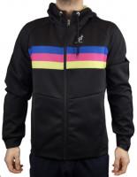 Muška sportski pulover Australian Volee Jacket with Printed Insert - nero