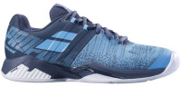 Męskie buty tenisowe Babolat Propulse Blast Clay Men - grey/blue