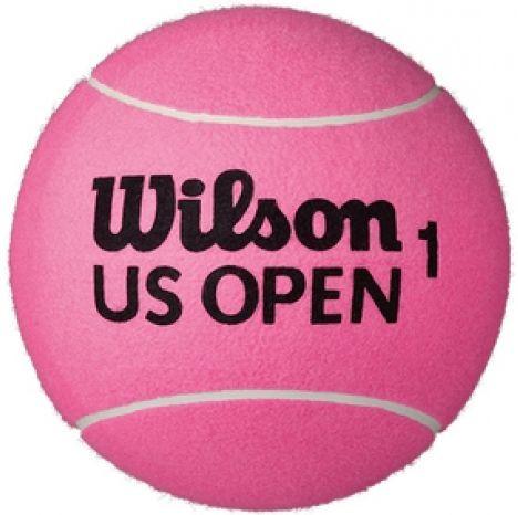 Piłka na autografy Piłka Mini Gigant Wilson US Open Jumbo Ball - pink