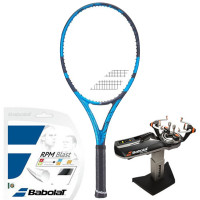 Rakieta tenisowa Babolat Pure Drive 107 2021 - blue + naciąg + usługa serwisowa