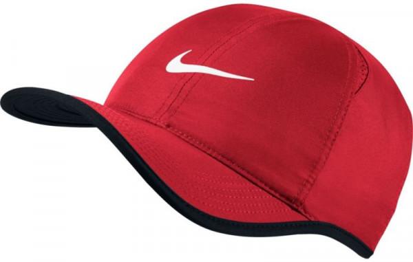 Nike U Aerobill Feather Light Cap - university red/black/white