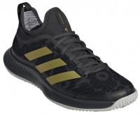 Teniso batai moterims Adidas Defiant Generation W - carbon/gold metallic/core black