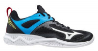 Buty do squasha Mizuno Ghost Shadow - black/white/diva blue