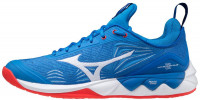 Męskie buty do squasha Mizuno Wave Luminous 2 - french blue/white/red