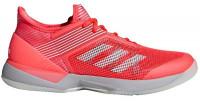 Adidas Adizero Ubersonic 3 W - shock red/white/light granite