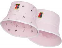 Czapka tenisowa Nike Bucket Roland Garros AOP - pink foam