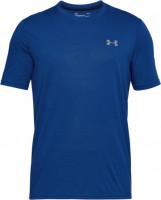 Męski T-Shirt Under Armour Threadborne Fitted T-Shirt - blue