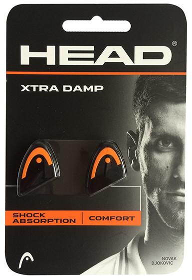 Wibrastopy Head Xtra Damp - black/orange