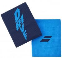 Babolat Logo Jumbo Wristband - drive blue