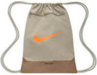 Plecak tenisowy Nike Original Brasilia Gym Sack -  stone/sandalwood/total orange