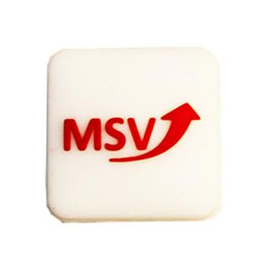 Tenisa vibrastopi MSV Logo M - white