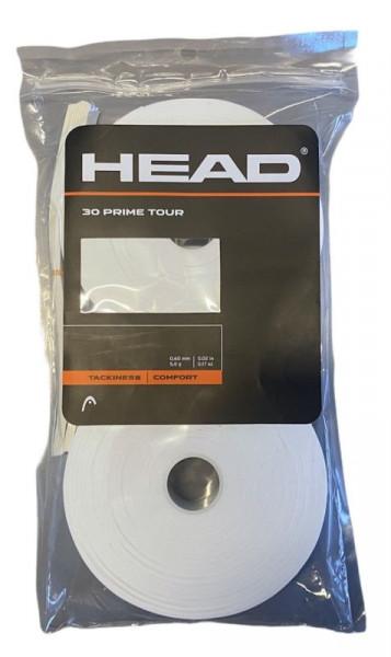 Owijki tenisowe Head Prime Tour 30P - white