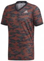 Teniso marškinėliai vyrams Adidas Freelift Primeblue Tee M - true orange/white