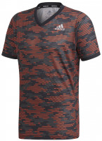 Męski T-Shirt Adidas Freelift Primeblue Tee M - true orange/white
