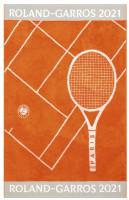 Ręcznik tenisowy Roland Garros Joueuse 2021 Serv1 - terre battue (turniejowy)