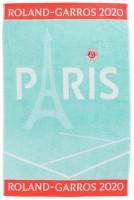 Ręcznik tenisowy Roland Garros Carreblanc Joueuse Celadon - plażowy