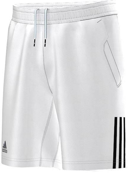 Poiste šortsid Adidas B Club Short - white/black