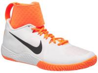 Damskie buty tenisowe Nike Flare - white/black/tart orange