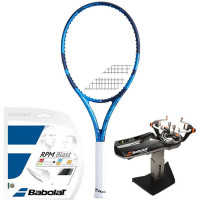 Rakieta tenisowa Babolat Pure Drive Super Lite 2021 - blue + naciąg + usługa serwisowa