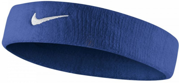 Galvas lente Nike Swoosh Headband - royal blue/white