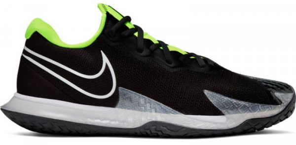 Męskie buty tenisowe Nike Air Zoom Vapor Cage 4 - black/white/volt/dark smoke grey