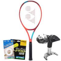 Rakieta tenisowa Yonex VCORE 98 (305g) - tango red + naciąg + usługa serwisowa