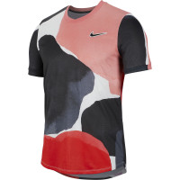 Męski T-Shirt Nike Court Challenger Top SS MB NT2 - gridiron/white/off noir