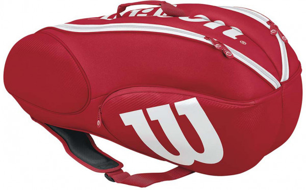 Wilson Mini Vancouver 6 Pack - red/white