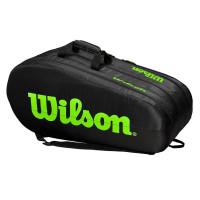 Tenis torba Wilson Team 3 Comp - black/green