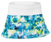 Tenisa svārki meitenēm Lucky in Love Girls Peace Out Mesh Skirt - opal