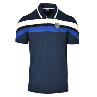 EA7 Man Jersey Polo Shirt - navy blue