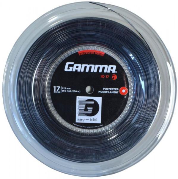 Tennisekeeled Gamma iO (200 m) - black