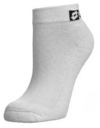 Skarpety tenisowe Lotto Sock New Club (Quarter) - 1 para/white