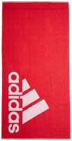 Adidas Towel Large - red/white