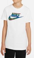 T-krekls zēniem Nike Sportswear Tee Chromatic Futura B - white