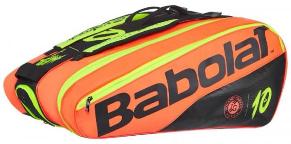 Torba Tenisowa Babolat Pure Decima x12 Roland Garros - black/red/yellow