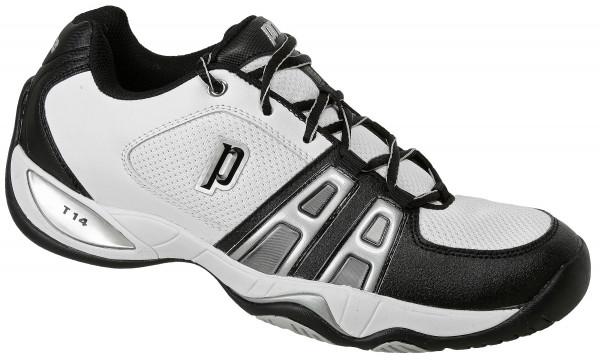 Teniso batai vyrams Prince T14 - white/black/silver
