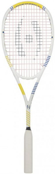 Rakieta do squasha Harrow Vapor - white/royal/yellow