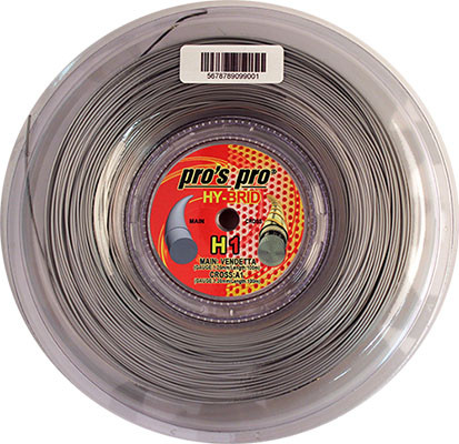 Naciąg tenisowy Pro's Pro Hy-Brid H1 (200 m)